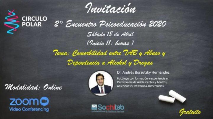 Encuentro Psicoeducación 18 de Abril 2020