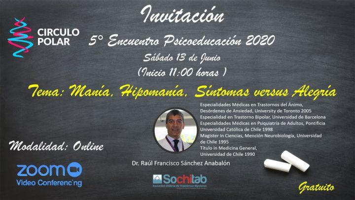 Encuentro Psicoeducación 13 de Junio 2020